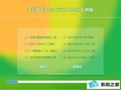 大白菜Ghost Win8.1 32位 清爽装机版 2021.04