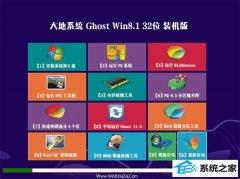 大地系统Windows8.1 2021.04 32位 增强装机版
