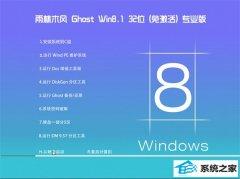 雨林木风Win8.1 2021.04 32位 老机装机版
