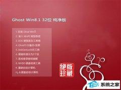 通用系统Windows8.1 修正纯净版32位 2021.04